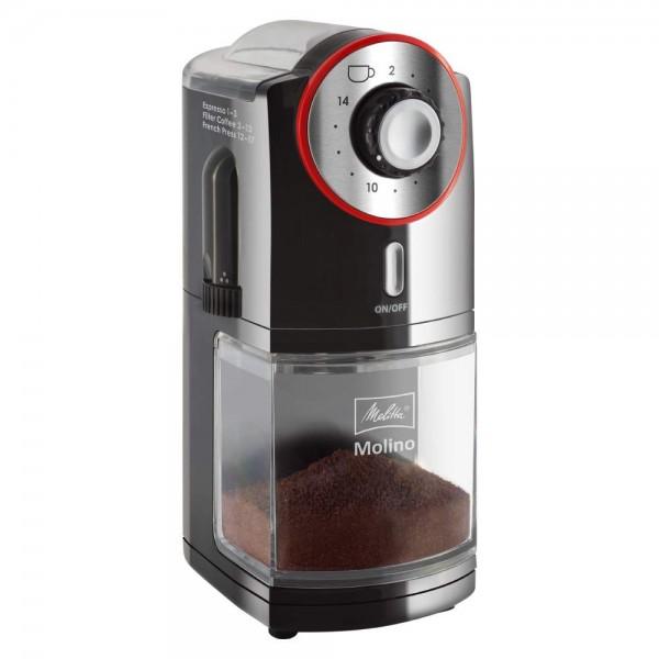 Molinillo de café eléctrico Rojo/Negro MELITTA®