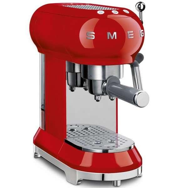 Cafetera Espresso Manual Roja SMEG