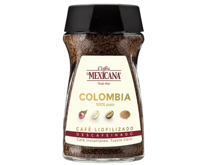 Café liofilizado soluble descafeinado Cafés La Mexicana