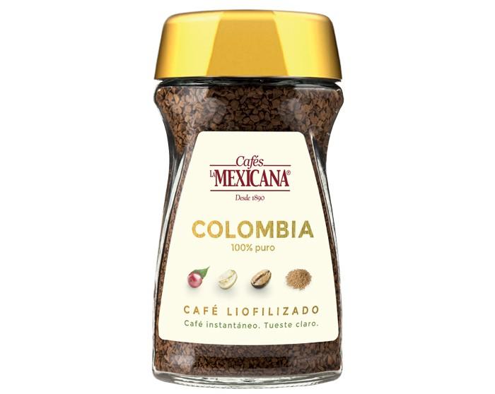 café liofilizado Cafés La Mexicana. Café Soluble La Mexicana