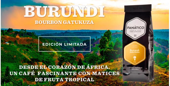 Café BURUNDI Bourbon Gatukuza. Nueva Edición Limitada.