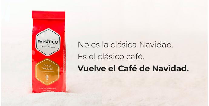 No es la clásica NAVIDAD. Es el clásico CAFÉ.