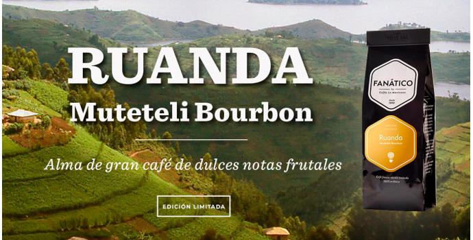 CAFÉ RUANDA MUTETELI BOURBON. NUEVA EDICIÓN LIMITADA.