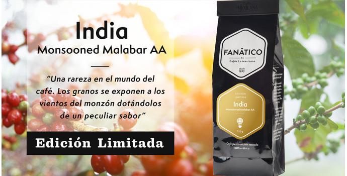 Nuevo Café Edición Limitada. India Monsooned Malabar AA.
