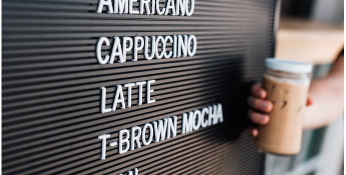 Los nombres de los cafés, ¿de dónde vienen?