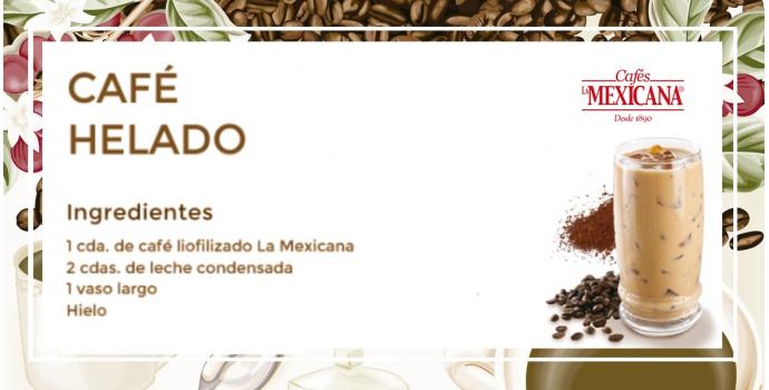 Café helado La Mexicana