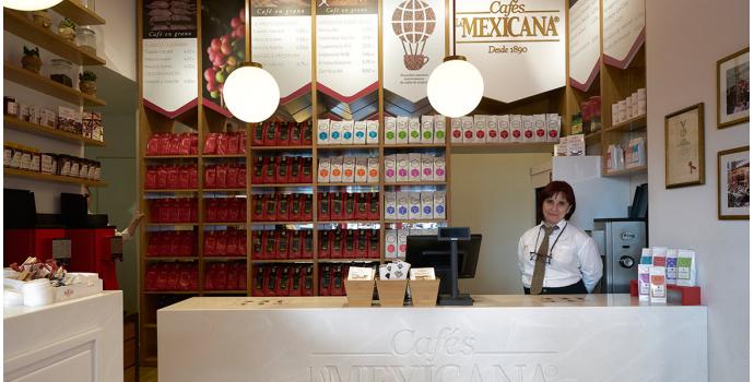 Tienda especializada de café